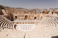 Roman city of Jerash, Jordan