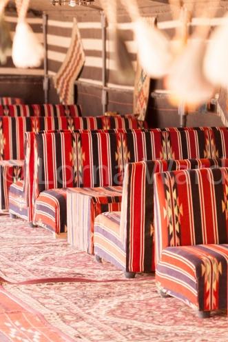 Bedouin colours in the Wadi Rum