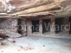 Petra's caves, a geologist's dream