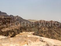 Views from the peaks of Jordan