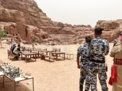 One of the many blockbusters filmed at Petra - this one called 'Desert Rose'