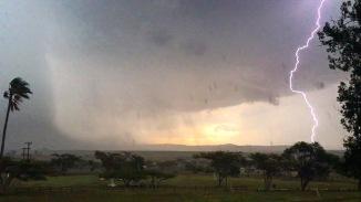 African thunderstorm Rorkes Drift