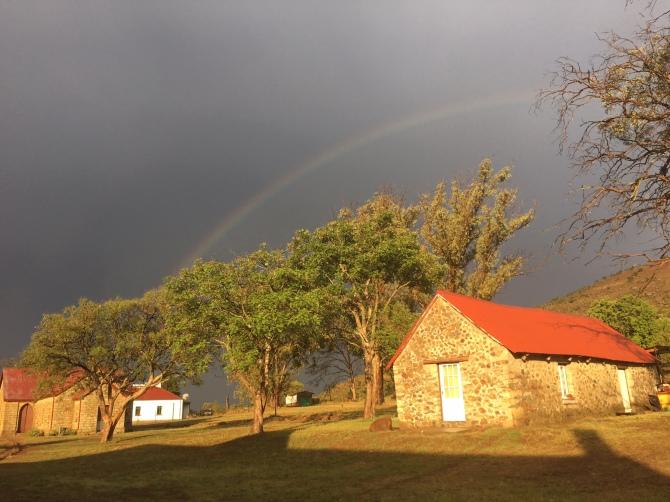 African thunderstorm threatens