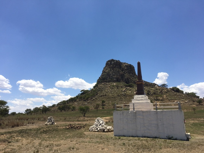 memorial Isandlwana-Ward