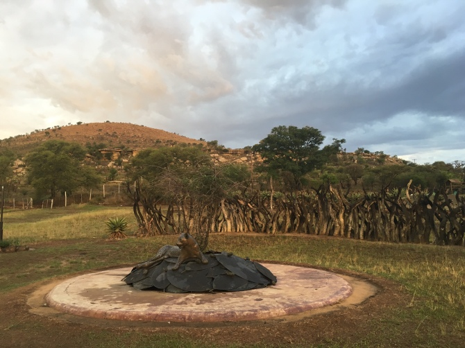 Zulu memorial Rorke's Drift-Ward